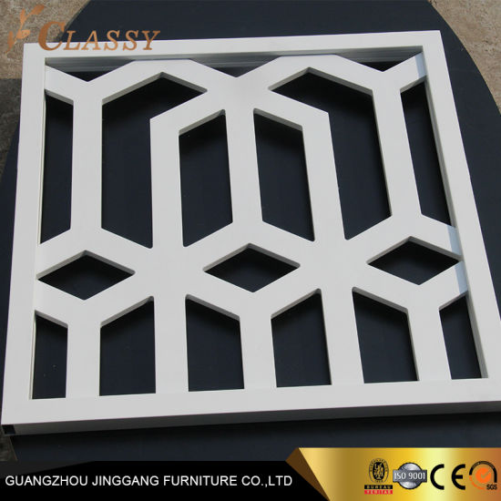 Laser Cut Stainless Steel Room Divider Screen