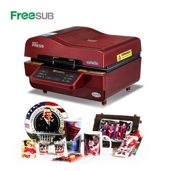 Heat Transfer Printing 3D Sublimation Vacuum Machine with Wholesale Price