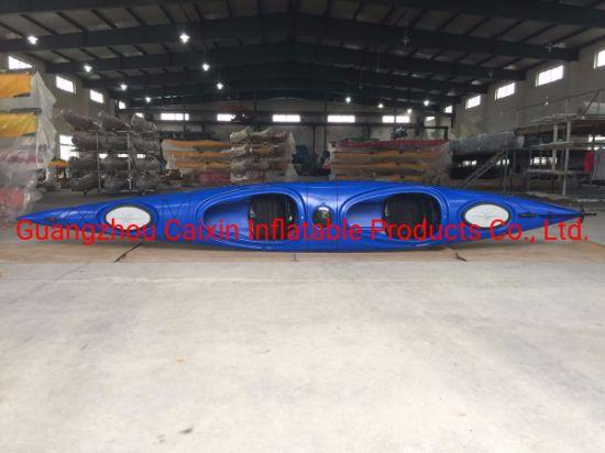 Professional Polyethylene Sit in Racing Kayak Canoe Ocean Touring Kayak Canoe