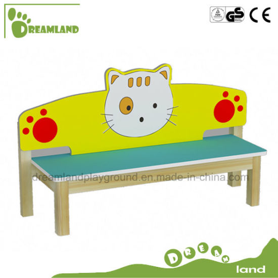 Lovely Kids Cartoon Wooden Bench for Sale