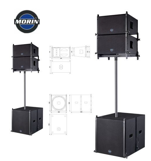 China Mini Linear Sound System Speakers Active Line Array