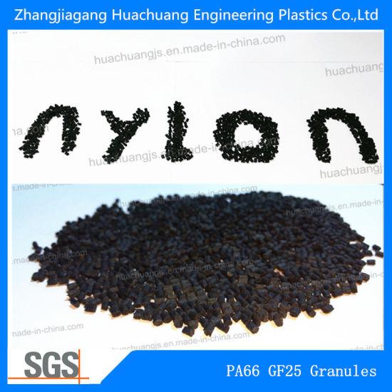 Glass Fibre Reinforced Nylon66 GF25 Granules for Raw Material