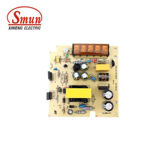 China Smun 100V-240VAC Input 15W 0.7A 24VDC Open Frame Power Supply ...