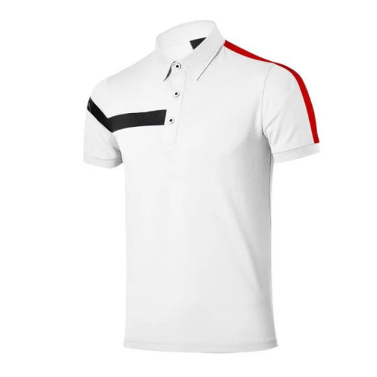 China Factory Direct Wholesale Edmbroidery Golf Polo Shirts