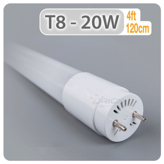 Commercial Lighting 0.6, 0.9, 1.2, 1.5m Glass LED Tube Light pictures & photos