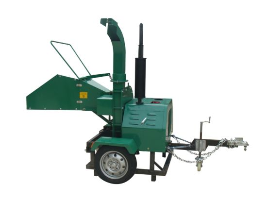20HP Diesel Power Tiller Wood Chipper