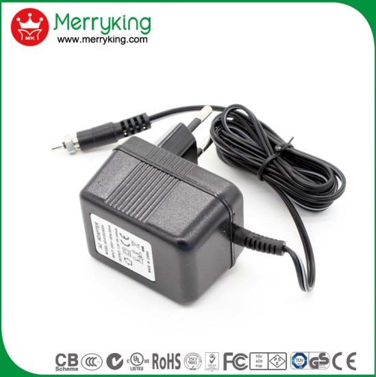 12V 2A Linear Power Supply AC DC Power Adapter with Ce FCC UL Certificate
