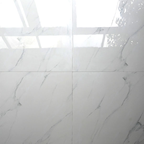 White Colors Of Tumbled Marble Kerala Vitrified Floor Tiles China