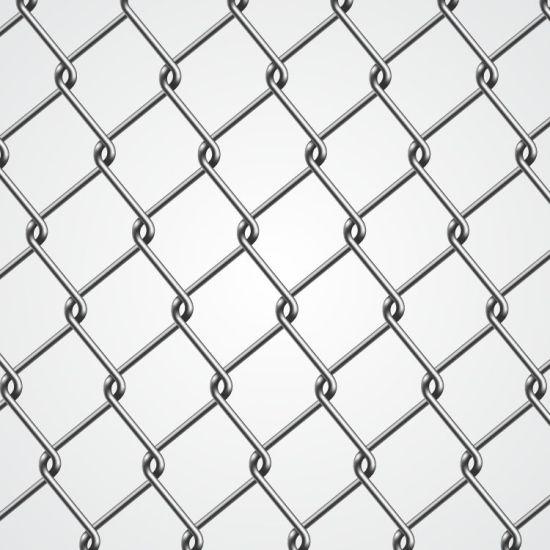 China Diamond Shape Galvanized/PVC Coated Wire Fence - China Wire ...