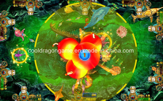 Arcade Game Fish Machine Thunder Dragon Cheats Table