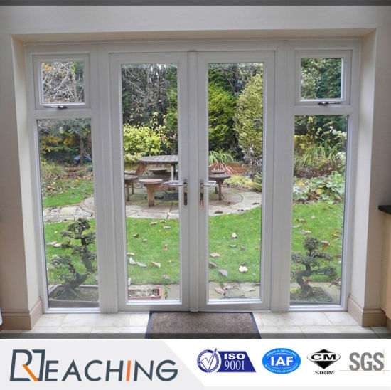 China Upvc French Doors High Quality Large Wooden Front Doors