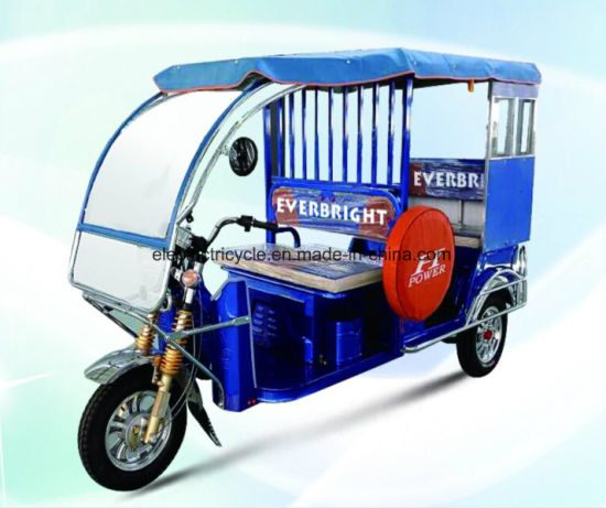 China Factory Electric Rickshaw with 120A 5PCS Battery