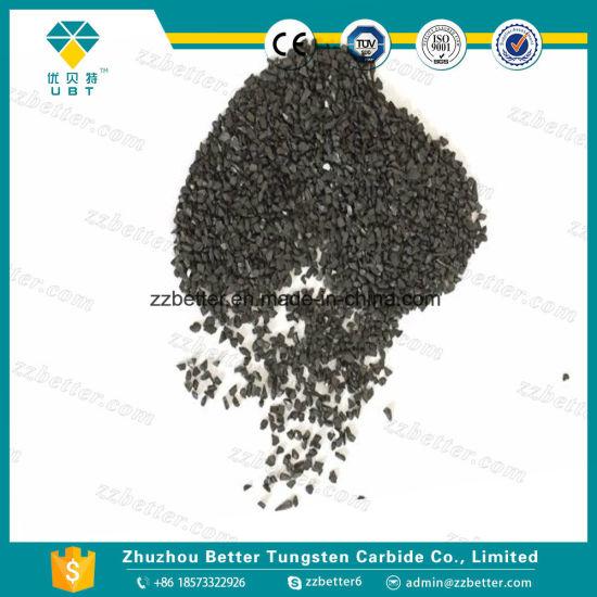 20~30mesh Grits Scrap Tungsten Carbide Granules 0 8~1 2mm