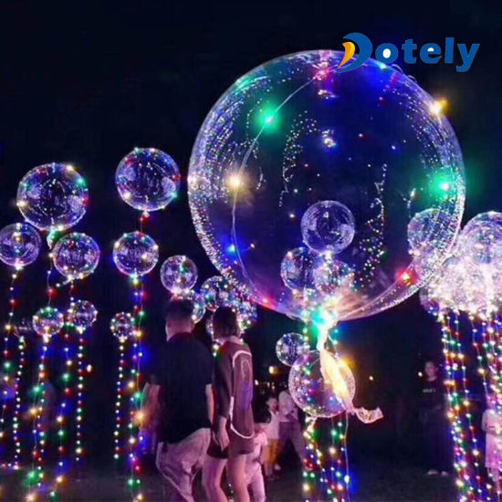 romantic air led light christmas decorations bobo balloon - Led Light Christmas Decorations