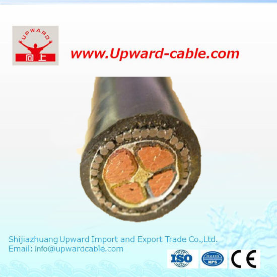 XLPE 11kv 66kv 185mm2 240mm2 Price High Voltage Power Cable pictures & photos