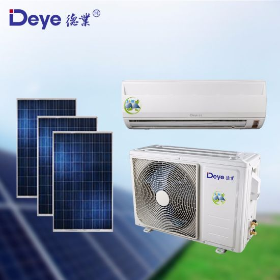 Pure Solar-Powered AC off-Grid DC48V 18000BTU Wall-Mounted Split Solar Air Conditioner pictures & photos