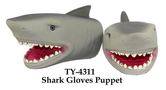 Bee Creative Gifts New Plastic Shark Key Ring