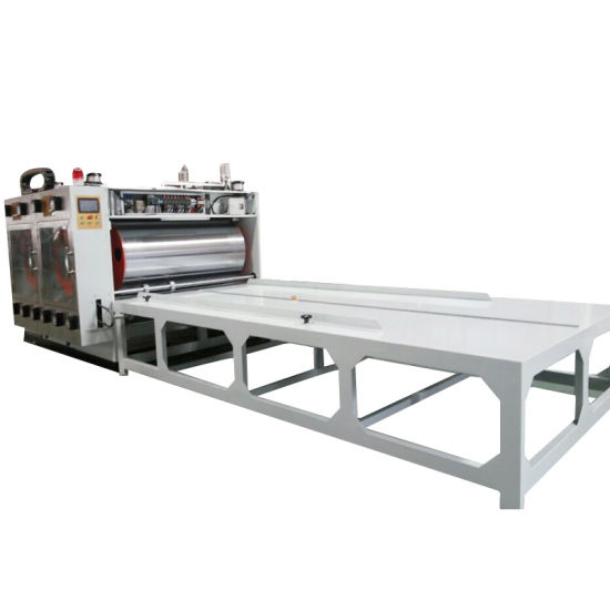 Semiautomatic Corrugated Carton Flexo Longway Printing Machine pictures & photos