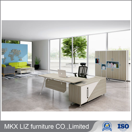 Commercial Office Furniture Executive Manager Office Table Gm 2098