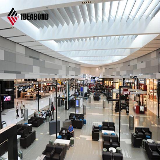 High Quality Interior Decoration LDPE Core Colorful PE Coating Aluminum Composite Panel