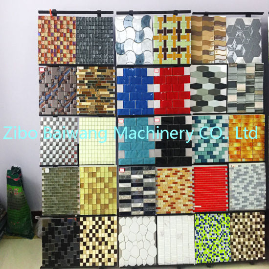 High Temperature Inkjet Glazed Glass Mosaic Tile for Sale pictures & photos