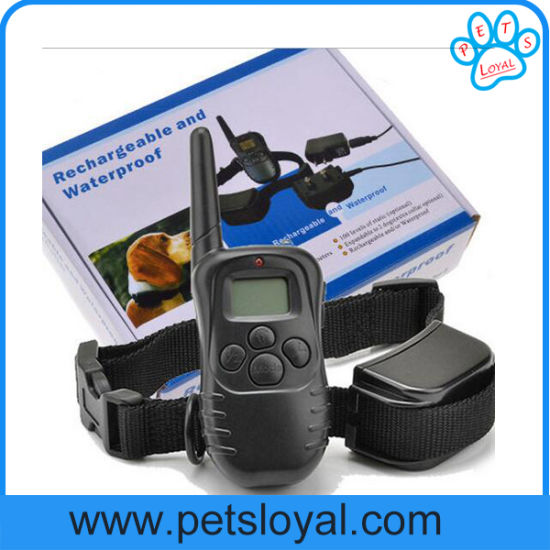 Cheap Remote Dog Training 300 Meters Bark Stop Collar (HP-404) pictures & photos