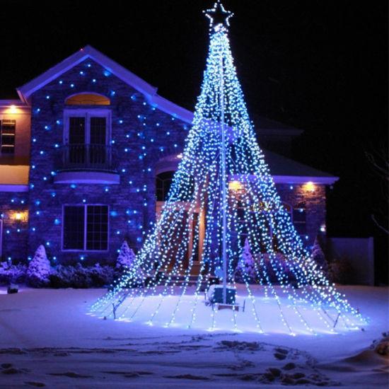 Outdoor Christmas Decoration Lights.New Led Christmas Lights Outdoor Led Christmas Flag Decoration Light
