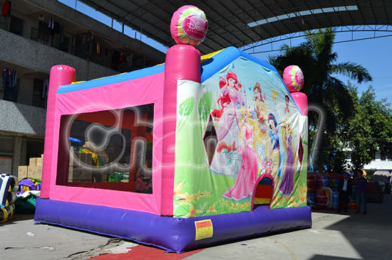 Princess Inflatable Jumping Bouncer Castle Air Jumper for Girls (CHB439)