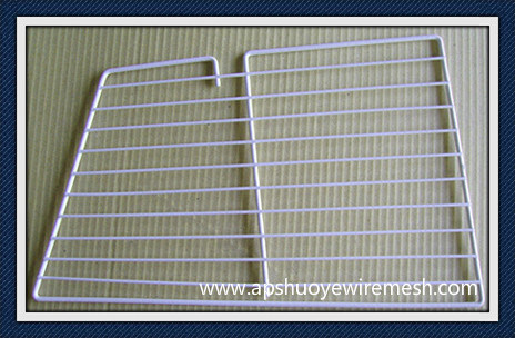 Stainless Steel /PE Coating Welded Wire Rack for Freezer Food Storage pictures & photos