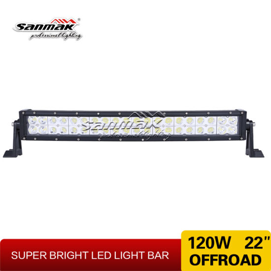 288W 50inch Hot Offroad Double Row Curved LED Light Bar pictures & photos