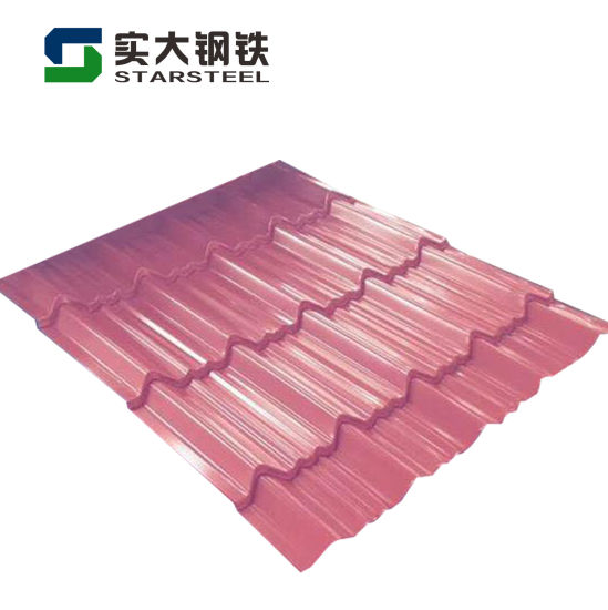 Good Quality Colorful Gi Metal Prepainted Galvanized Corrugated Steel Sheet in China
