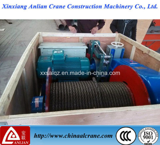 Electric Wire Rope Crane and Hoist Winch pictures & photos