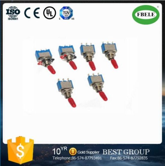 Mini Type on off Small Toggle Switch Micro Switch