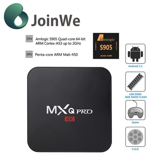 Mxq TV Box S905 Mxq PRO 4k TV Box pictures & photos