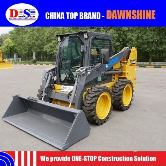 Xugong Chinese 06 M3 1 Ton Skid Steer Loader pictures & photos
