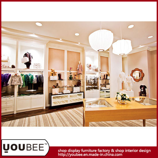 db66d4f20 Boutique Shop Display Furniture for Luxury Baby Kid Clothes Retail ...