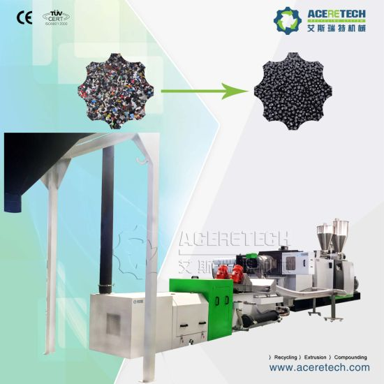Full Automatic Single Screw Plastic Recycling Granulator Machine pictures & photos