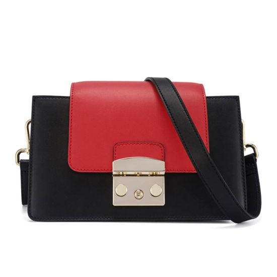 Lady Fashion Messenger Bag Desinger Genuine Leather Crossbody Bag