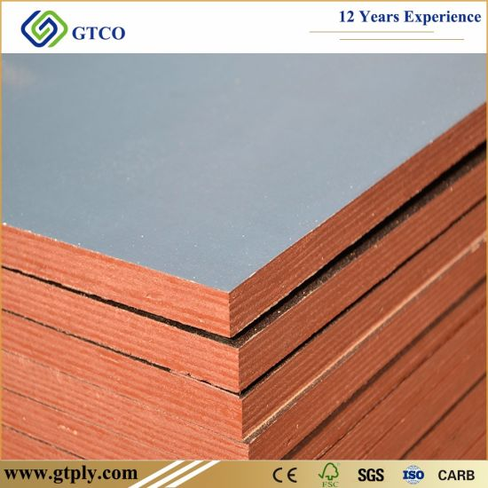 Cheap Price 18mm Construction Building Material Black Film Faced Marine Plywood
