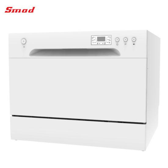 UL/ETL 110V 6sets Electric Countertop Small Dishwasher