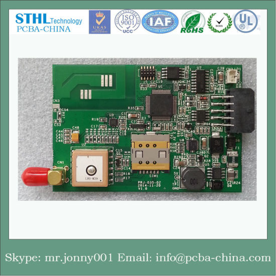 4 Layer Car Auto PCB with RoHS, ISO, UL and PCB Assembly SMT DIP pictures & photos