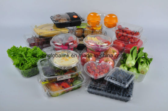 Fruit Packaging Container Clamshells Punnet For Fruit Grap Packaging Box  Apple Packaging Container