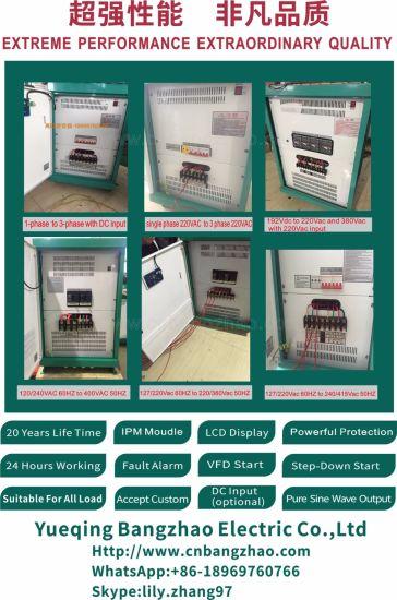 Low Frequency Transformer 10kw Sine Wave Inverter for 3 Phase Compressor