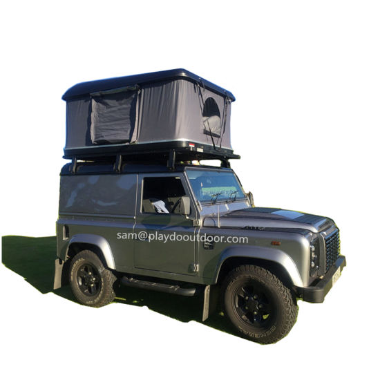 4X4 Camper Trailer Tent Hard Shell Overland Car Roof For Camping And Outdoor