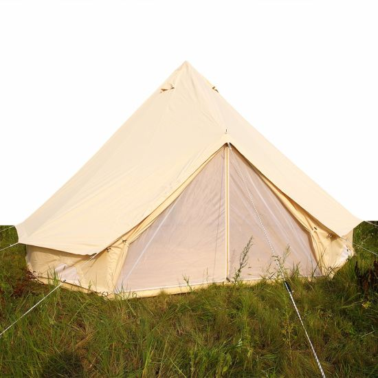 Outdoor Cotton Canvas Bell Tents Teepee Tent for Sale/Canvas Safari Tents/ Canvas C&ing Tent  sc 1 st  Beijing Unistrengh International Trade Co. Ltd. & China Outdoor Cotton Canvas Bell Tents Teepee Tent for Sale/Canvas ...