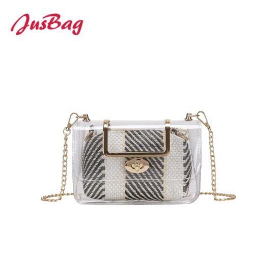 ee8bfdd25977 China 2018 Classical High Quality PVC Jelly Crossbody Clutch Bag ...