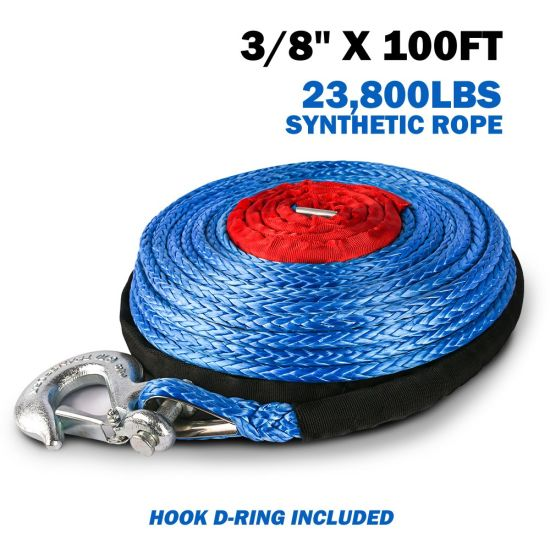 30 Meter Winch Rope for Trucks or Trailers Synthetic Rope