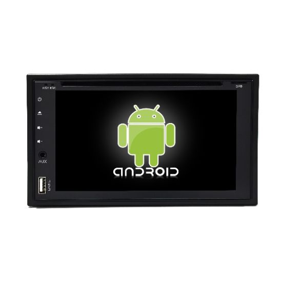 Universal Car Video Player with USB DVD Bluetooth