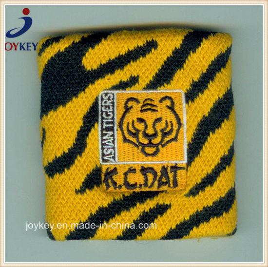 Customized Jacquard Weave Sweatband for Wrist