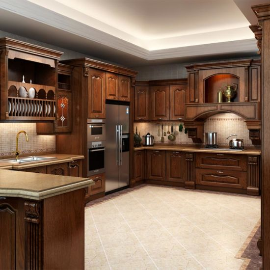 American Classical Solid Wood Cherry Kitchen (ACS2-W57)